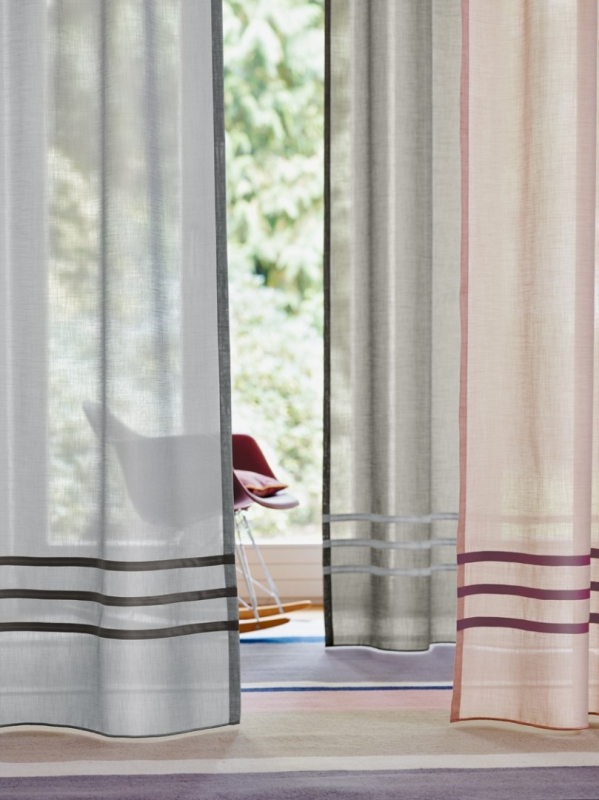 Use our multiple styles of drapery trim to upgrade your window treatments.